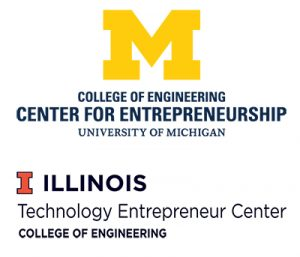 Michigan Center for Entrepreneurship and Illinois Technology Entrepreneurship Logos